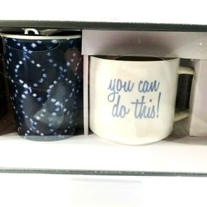 Threshold 2 Piece Ceramic Coffee Mug Set